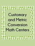 Customary and Metric measurement Conversion Centers Common