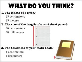 Customary vs. Metric Units; Teaching Measurement (Common Core Aligned)
