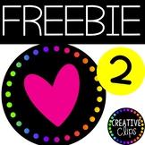 Customer Appreciation FREEBIE #2
