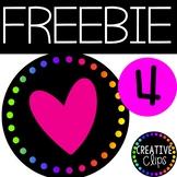Customer Appreciation FREEBIE #4