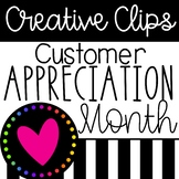 Customer Appreciation Month Calendar and Info