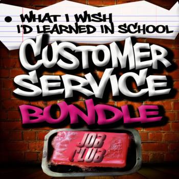 NEW!!! Customer Service Bundle - Special Education High School Print