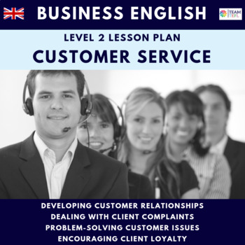 Customer Service Level 2 Free Business English Lesson Plan
