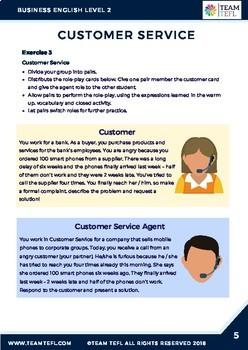 free esl business english lesson plans