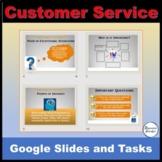 Customer Service Skills Google Slides and activities