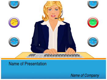 Customer Support PPT Template