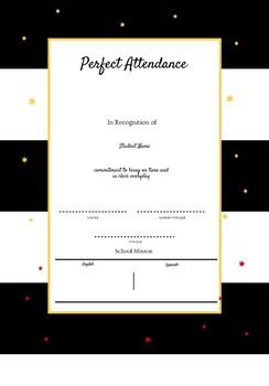 Customizable Award Certificates