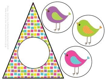 Customizable Bitty Birdies Pennant Banner
