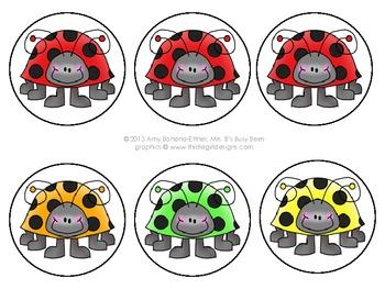 Customizable Black Ladybugs Pennant Banner