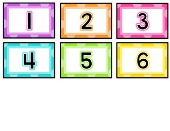 Book Box Labels EDITABLE {Bright Polka Dots}