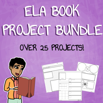 Customizable Book Report Project Bundle