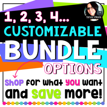 Customizable Bundle Options Save up to $7.00! PICK WHAT YOU WANT!!!