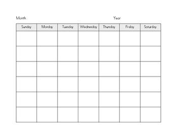 Customizable Calendar Form