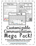 Customizable Chevon Communication Mega Pack [Daily, Weekly