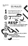 Customizable Class Rules Legal Poster Printable