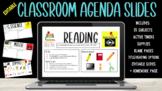 Customizable Classroom Agenda Slides w/ Timers