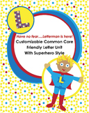 Friendly Letter Unit Superhero Style {Customizable, 1st, 2nd, 3rd, CCSS}