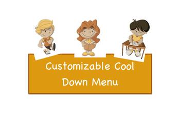 Customizable Cool Down Menu