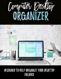 Customizable Desktop Organizer Wallpaper - Live What You Love