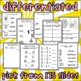 Customizable Differentiated First Grade Morning Work 2nd Set