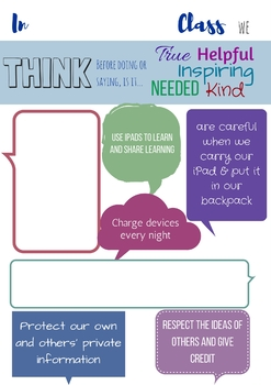 Customizable Digital Citizenship Poster
