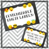 Emoji Labels