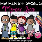 End of the Year Memory Book| First Grade|distance learning
