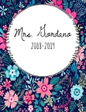 Customizable Floral/Marble Binder Covers