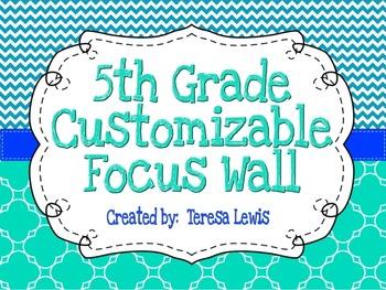 Customizable Focus Wall Caribbean, Turquoise, and Cobalt B