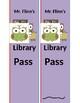 Customizable Hall Passes