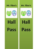 Customizable Hall Passes