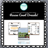 Customizable Halloween (Rescue Count Dracula) Escape Room Game
