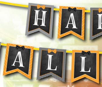 Editable Halloween Banner!