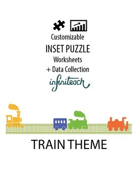 Customizable INSET PUZZLE Worksheets & Data For Students W