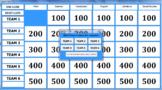 Customizable Jeopardy Game