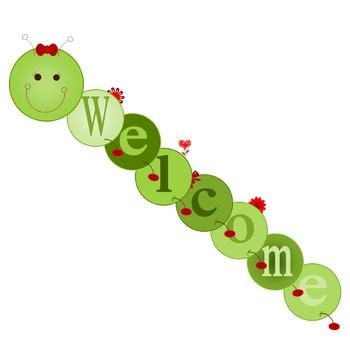 Customizable Large Hungry Friendly Caterpillar Bulletin Bo