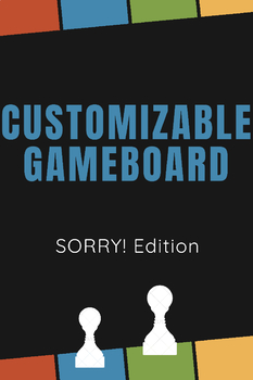 Customizable Sorry Game