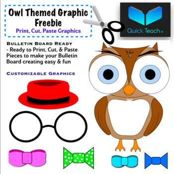 Customizable Owl Class Room Decor