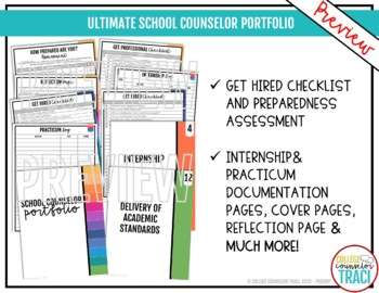 Customizable School Counseling Portfolio
