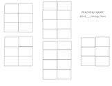 Seating Chart Customizable
