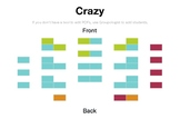 Customizable Seating Chart: Crazy