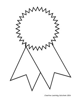Customizable Student Award Ribbons - Editable Awards