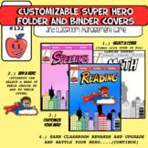 hero binder cover teaching resources teachers pay teachers