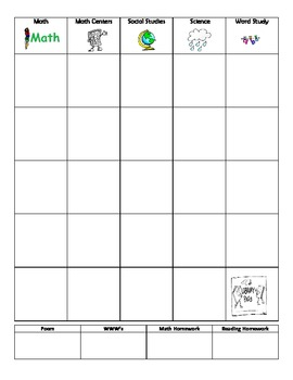 Customizable Teacher Plan Book
