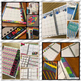 Customizable Teacher Planner - Night Brights Colors