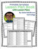 Lesson Plan: Customizable Templates- Lesson Plan Book w Da
