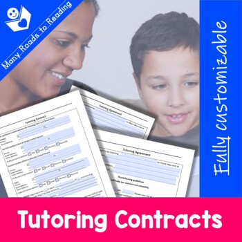 Customizable Tutoring Contracts {Be a Professional Series}