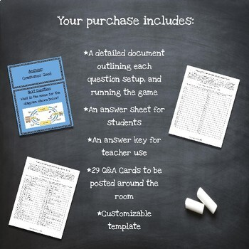 Customizable What is Economics? Scavenger Hunt Style Review Game