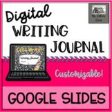 Customizable, Year-Long Digital Writing Journal - Distance
