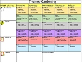 Customization Weekly Lesson Plan Template!!